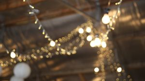 hanging light bulb chain gallery image