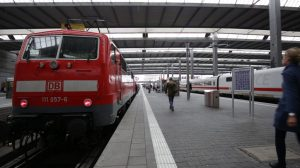 train station red train stock footage gallery image