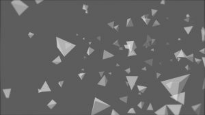 tetrahedron particle field background animation - Dark Grey 2 img