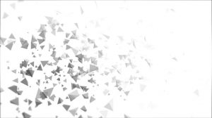 tetrahedron particle field background animation - white 1 img