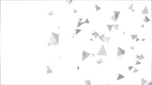 tetrahedron particle field background animation - white 2 img