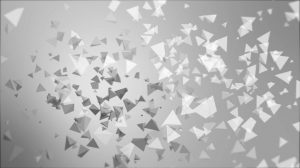 tetrahedron particle field explosion grey gradient bg 2 img