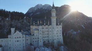 royalty free video neuschwanstein (disneyland) castle Germany 2 Full HD img