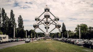 belgium brussels atonium museum atom building hyperlapse img2