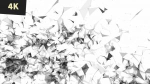 Abstract business background newsroom geometric futuristic field white with black lines 4 img2 4K